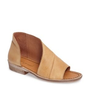 Free People Mont Blanc Asymmetrical Sandals 40